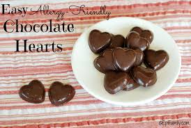 easy allergy friendly chocolate hearts epifamily com