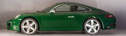 irish green porsche porsche milestone one millionth 911 rolls off the production line