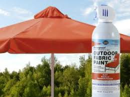 Paint Patio Umbrella Waterproof And Colorize Your Sun Faded Patio Umbrella With