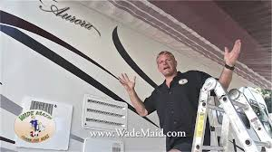 Best Way To Clean Awnings Cleaning Your Rv Awning Youtube