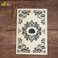 laser cut wood invitations compare prices on arab wedding invitations online shopping buy