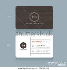 modern business card design template dark stock vector 234302395