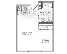 garage with apartment above floor plans garage with studio apartment above hwbdo67359 house plan from
