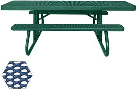Commercial Picnic Tables And Benches Plastisol Coated Picnic Tables Commercial Picnic Tables