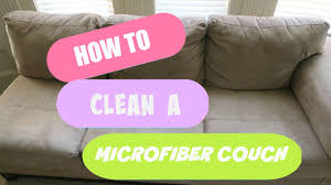 How To Clean Sofa Pillows by Cleaning My Microfiber Couch Does Alcohol Work Youtube