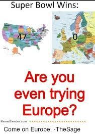 Meme Blender - super bowl wins are you even trying europe meme blender com come on