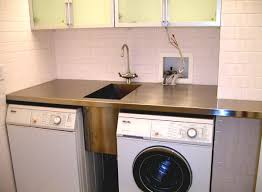 laundry in kitchen design ideas home design washing machine and dryer kitchen table with
