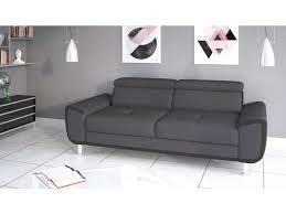 canapé droit 3 places canapé droit 3 places en tissu spott pas cher canapé conforama