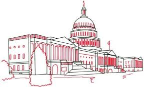 4 windows and arches how to draw the united states capitol