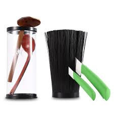 compare prices on plastic kitchen knife holder online shopping