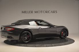 maserati gt matte black 2017 maserati granturismo sport stock m1866 for sale near