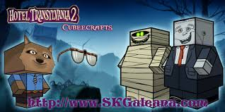 hotel transylvania 2 cubeecrafts skgaleana