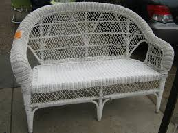 uhuru furniture u0026 collectibles white wicker wonderland sold