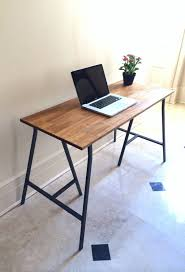 rectangle flat eased brown wooden table top for rustic desk with