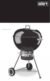 weber charcoal grill 30792 080309 user guide manualsonline com