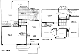4 bedroom house plans 2 story tangerine terrace floor plan plan 805
