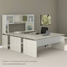 Shaped Desk Series Front Executive U Shaped Desk Suite 39 Right Handed