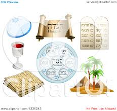 passover items clipart of passover items royalty free vector
