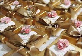 wedding gift gold gold wedding favors wedding candy bags box wedding