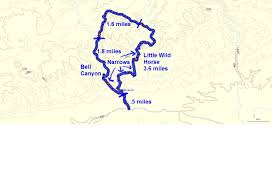 Riverside State Park Trail Map by Gjhikes Com Little Wild Horse Canyon