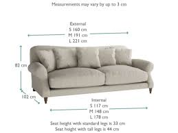 Standard Sofa Size by Crumpet Sofa Extra Deep Classic Sofa Loaf
