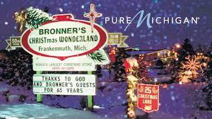 bronner u0027s christmas wonderland pure michigan youtube