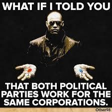Morpheus Meme - politically inspired iteration of the morpheus meme of the type