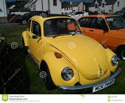 volkswagen yellow car vehicle retro yellow vw vintage volkswagen beetle editorial photography image