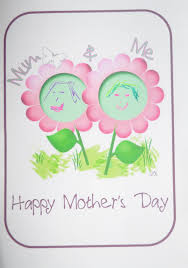 mother u0027s day craft mum and me card be a fun mum