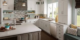 Menards Kitchen Backsplash Birch Wood Cool Mint Prestige Door Kitchen Cabinets At Menards