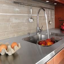 carrelage mural cuisine lapeyre comment choisir un plan de travail cuisine en inox lapeyre