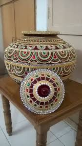 decorate dandiya sticks home 115 best mutka and pots images on pinterest diwali decorations