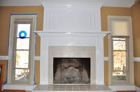 picturesque brick fireplace makeover before during after fireplace