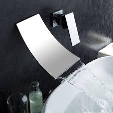 bathroom waterfall faucets
