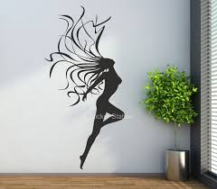decor 22 naked woman with flowing hair wall art sticker glamour full size of decor 22 naked woman with flowing hair wall art sticker