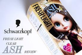 how to mix schwarzkopf hair color schwarzkopf fresh light clear ash hair dye review toning down