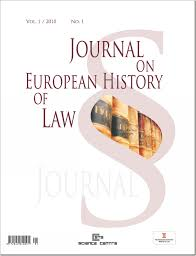journal on european history of law