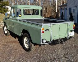 land rover 1970 1973 land rover pick up truck auto restorationice
