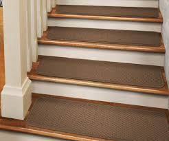 rubber stair treads and risers wooden vinyl plank stair treads