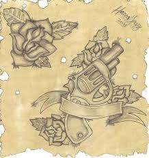 gun holster thigh tattoo for girls photos pictures and sketches
