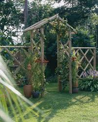 forest rose arch a traditional rose garden arch made from pressure