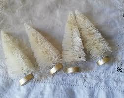white bottle brush trees dyeable 4 christmas craft