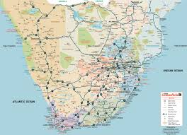 Southern Ocean Map Caravanparks Com Maps Southern Africa