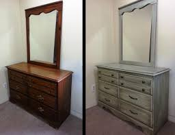 furniture best painted bedroom furniture before and after home