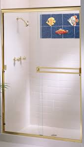 sliding walk in shower doors american shower and tub door