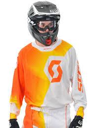 scott motocross gear scott orange white 2014 450 fission mx jersey scott