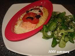 cuisiner saumon congelé papillote de saumon à la mozzarella mille et une saveurs