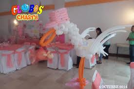 decoracion baby shower con globos chasty youtube