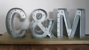 crafting quine make marquee letters for weddings or home decor