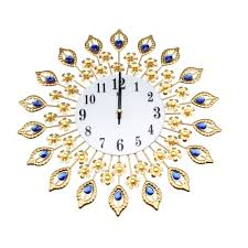 Silent Wall Clocks Compare Prices On Peacock Wall Clock Online Shopping Buy Low